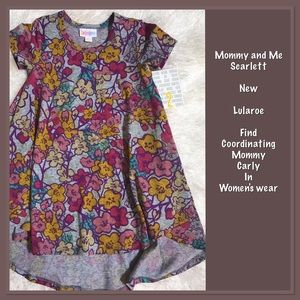 LuLaRoe Other - 🌸🌸MOMMY AND ME SCARLETT🌸🌸