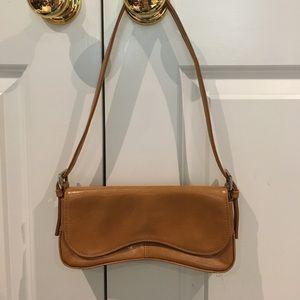 Enzo Angiolini saddle evening bag