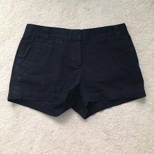 """J. Crew 3"""" City Chino Shorts - Navy Blue"""