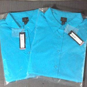 Sz 1X Worthington Woman Dress Shirts