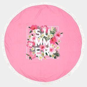 Hannah Beury Accessories - Summer Beach Wrap with Tassel edges