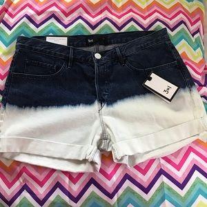 3x1 Pants - 3 X 1 Boyfriend Shorts Tye Dye New With Tags 28