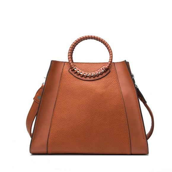 Handbags - Louise Woven Handle shoulder bag