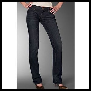 Goldsign Denim - Goldsign Straight Leg Stretch Jeans