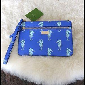 Kate Spade Seahorse Wristlet