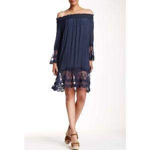 Monoreno Dresses & Skirts - Monoreno•Gauzy Off The Shoulder Dress