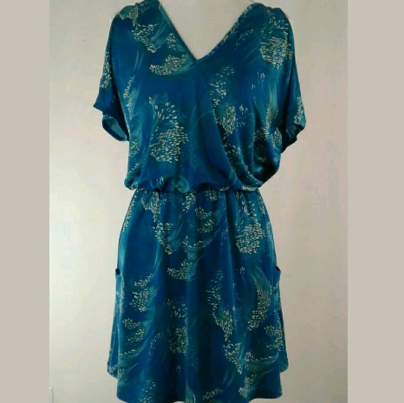 Josh Brody Dresses & Skirts - 💕NEW Josh Brody Summer Dress Size S Split Sleeves