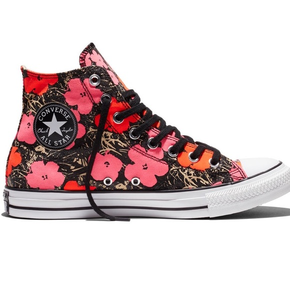 🆕Converse GLOW in The Dark Andy Warhol Poppy 60e9b0be4