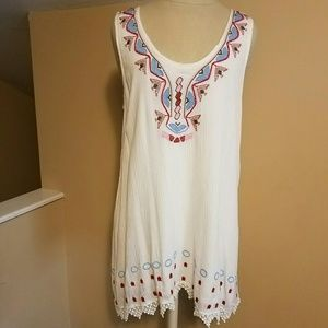 1 hr sale! NWT Altar'd State embroidery dress