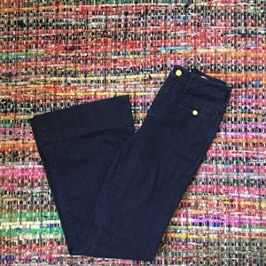 Anthropologie Denim - Anthropologie Dark Wash Wide Leg Jeans