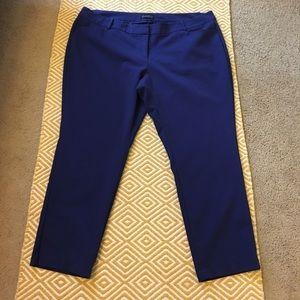 Eloquii Pants - Eloquii Kady Fit Pants - Cobalt Blue, 24