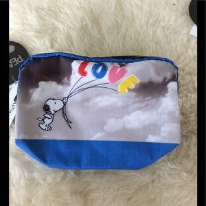 LeSportsac Snoopy Rectangular Cosmetic Bag