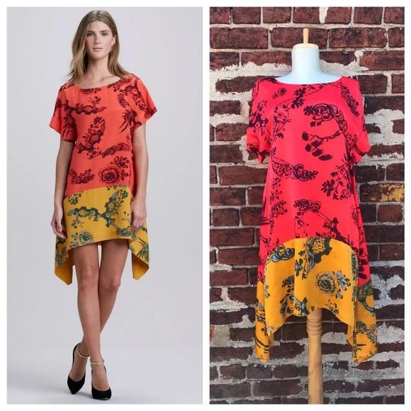 f55a931990f Elizabeth James 4 Colorful Maisie Silk Shift Dress