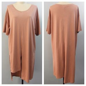 clmayfae Tops - SUNKISSED Unbalanced Oversized Tee