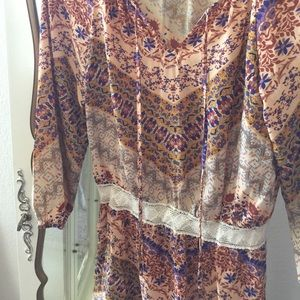 Eight sixty floral boho dress