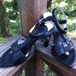 coccinelle Shoes - All leather,Italian made heeled sandals