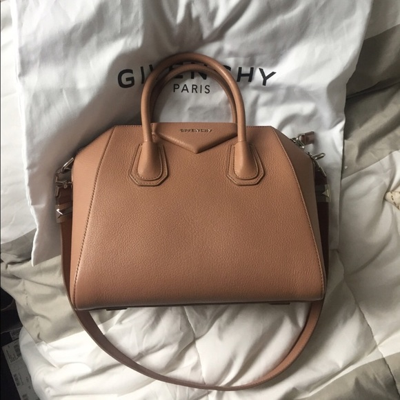 d9a9f21395c05 Givenchy Handbags - Authentic givenchy antigona small size rose nude