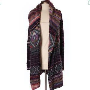 Rachel Rachel Roy boho heavy knit sweater coat