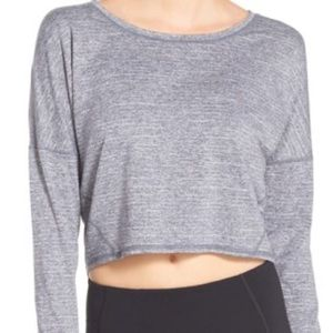 Zella ready or not crop pullover
