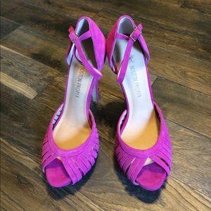 Boston Proper Shoes - Boston Proper Ankle Strap High Heels