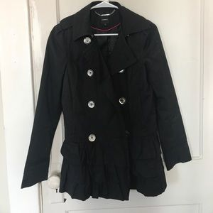 Express black rain trench