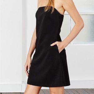 MLM Label black strapless Mercury dress