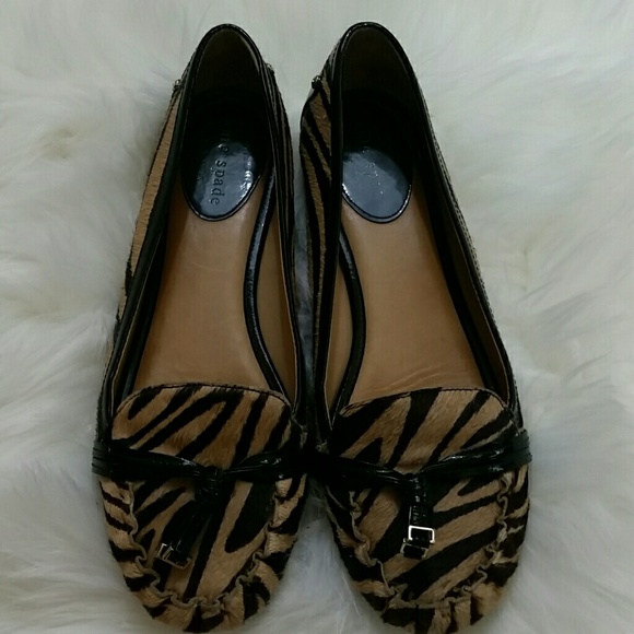 clearance footaction Kate Spade New York Zebra Ponyhair Loafers cheap sale get to buy free shipping cheap price cheap shop for TSvUJixGa