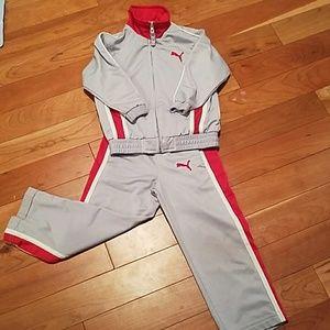 Puma Other - Puma sweat suit set size 4t