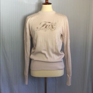 Fox Sweaters - ✨SALE✨Grayish, white Fox knit sweater