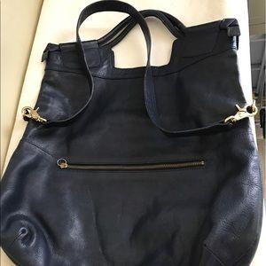 Foley + Corinna Handbags - Foley & Corinna navy tote bag