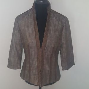 Coldwater Creek Jackets & Blazers - NWOT Coldwater Creek Lace-Trimmed Jacket