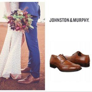 Johnston & Murphy Other - Johnston and Murphy Harding Panel Lace-Up Shoe