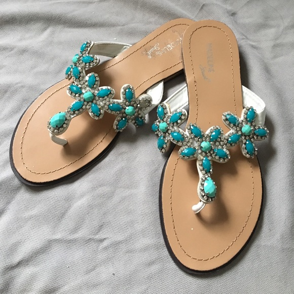 ec9270e8d Madeline Stuart Shoes - Rhinestone sandals