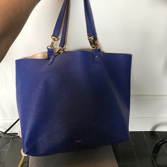 5c9ffad64cc7 Royal blue Ralph Lauren tote. M 59134c4536d594bde917753b