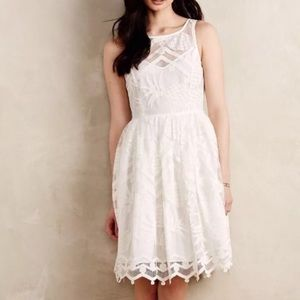 X-SOLD-X Anthropologie Pina Lace Dress by Maeve