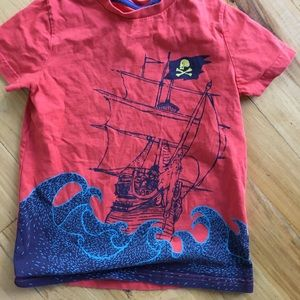 Boden boys pirate shirt
