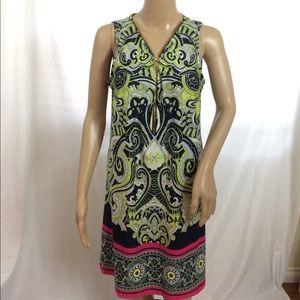 NWOT MSK Colorful Dress