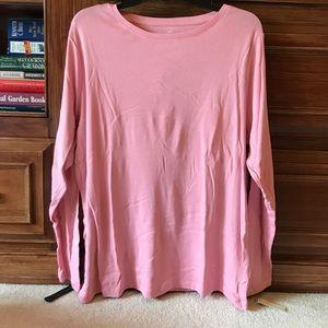 NWT Light Pink Talbots Long Sleeve