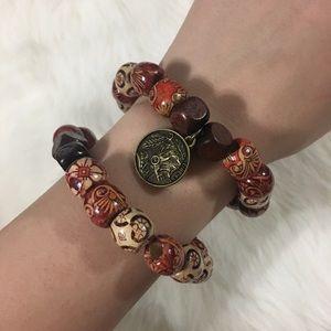 Jewelry - Handmade 2pc beaded bracelets