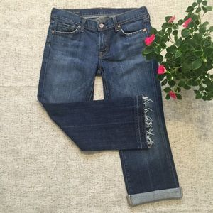 Citizens of Humanity Cropped Denim