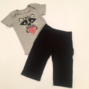 Children's Place Other - ❤️I will steal your heart onesie outfit