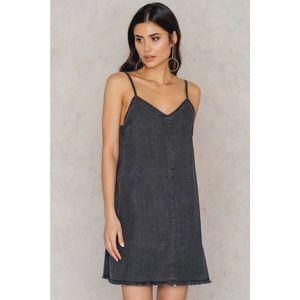 Washed Denim Swing Dress *NEW*