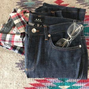 APC Other - APC New Standard Raw Denim Jeans