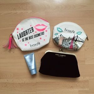 Benefit Other - Makeup Bag Trio/Bundle: Benefit, D&G, Estee Lauder