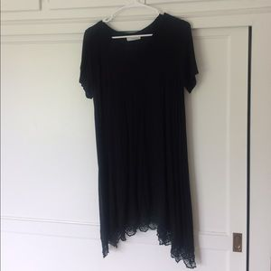 Audrey 3+1 Dresses & Skirts - Black T-Shirt Dress