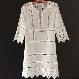 Faithfull the Brand Dresses & Skirts - Ministry Of Style Blazing Dress in Ivory BNWT