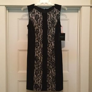 NWT CYNTHIA ROWLEY BLACK & LACE Dress