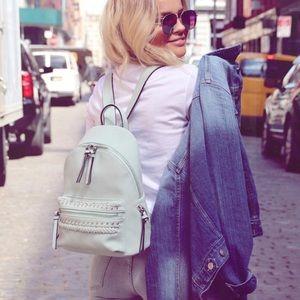 Free People Handbags - Free People Harper Mini Backpack in Mint