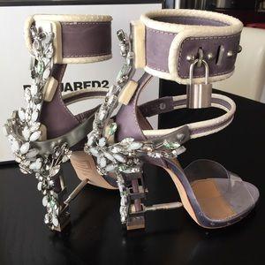 DSQUARED Shoes - Dsquared2 Virginia Embellished Heels Heels