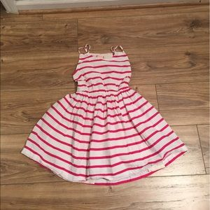 ruby & bloom Other - Pink and White stripe dress size 8